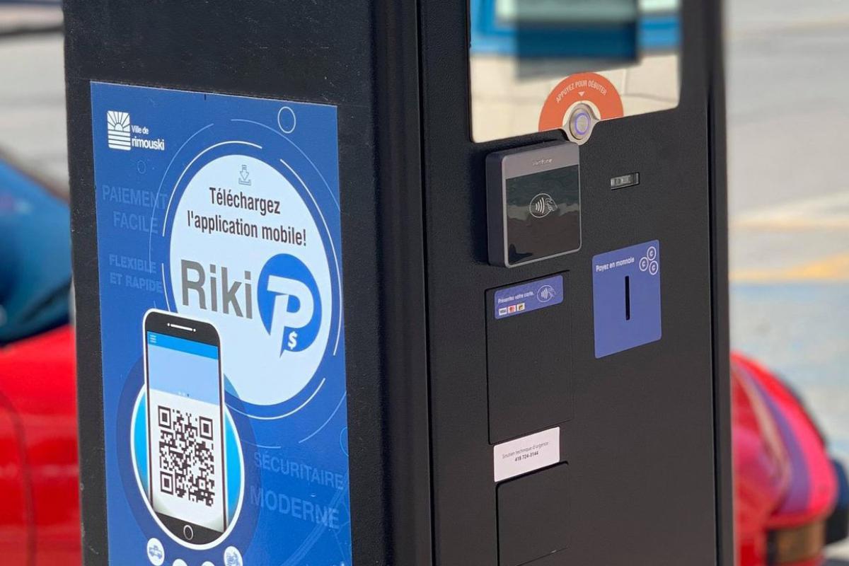Rimouski, la ciudad y los usuarios se están adaptando a los nuevos parquímetros.
